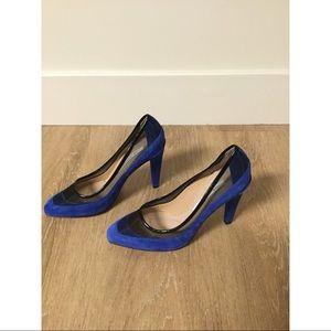 Diane Von Furstenberg Royal Blue Pumps